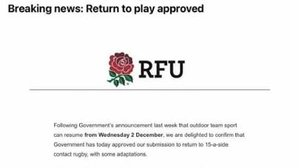 RUGBY IS BACK!!!