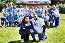 Hundreds turn out to remember Freddie at Ashton Town charity match