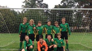 Under 12s football team