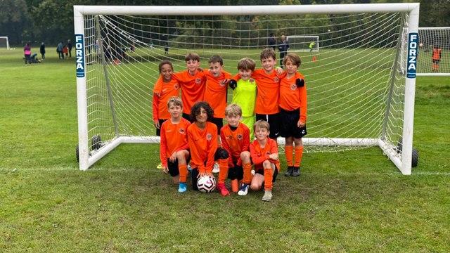 Under 9 Orange Team