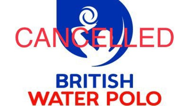 British Water Polo - National League Season Cancelled