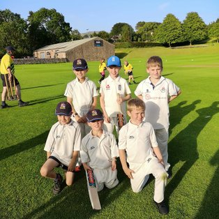 Under 9's have fun in the sun