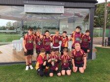 Tows U13 runners up at Peterborough tournament