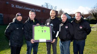 The Day Club Hero, and Republic Of Ireland No.1, Darren Randolph, came to visit