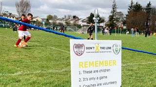 Ardmore Rovers Implement FAI's Don't X The Line Initiative