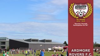 Ardmore Rovers Mini World Cup -  Saturday 29th June, 11 to 15 Year Olds