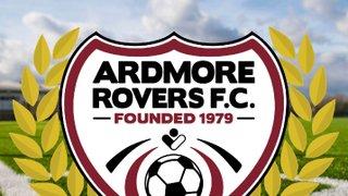 Ardmore Rovers 40th Anniversary Celebration Night