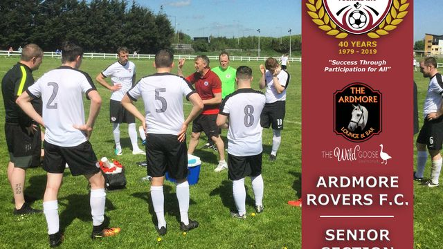 Big News For The Ardmore Rovers Senior Section