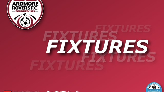 FIXTURES FOR WEEKEND OF 16TH & 17TH OCTOBER 2021