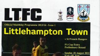 Littlehampton Town Vs St Francis Rangers 18/08/2013