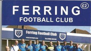 Ferring FC.Vs.Bosham FC.23rd August 2014