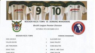 Bognor Regis Town Vs Dorking Wanderers 08/12/2018(2)