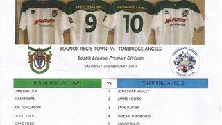 Bognor Regis Town Vs Tonbridge Angels.02/02/2019