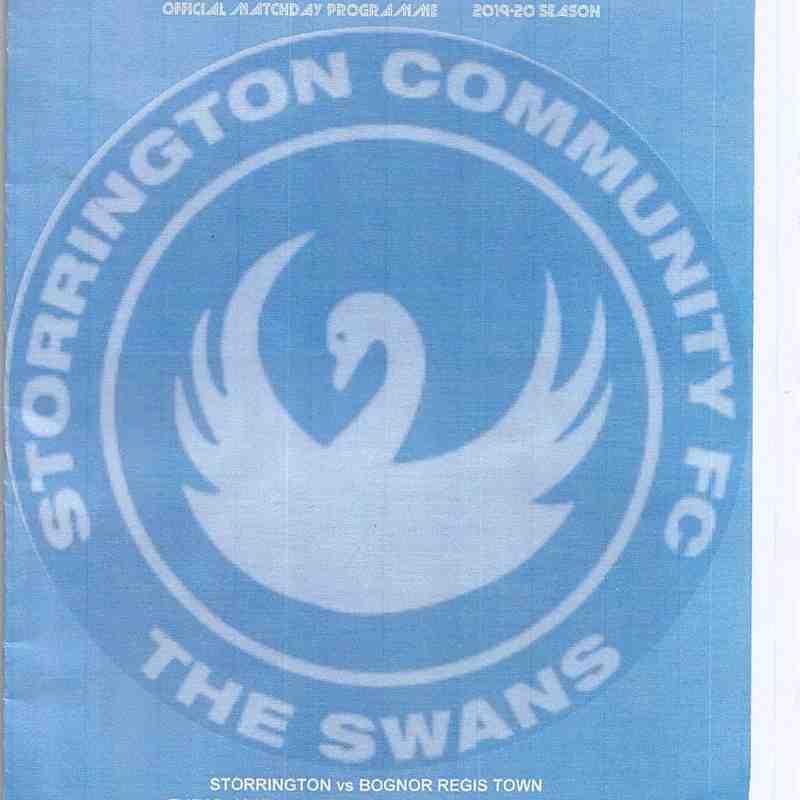 Storrington Community Vs Bognor Regis Town 05/11/2019