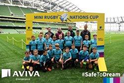 U10 Boys Play in Mini Nations Cup at Aviva