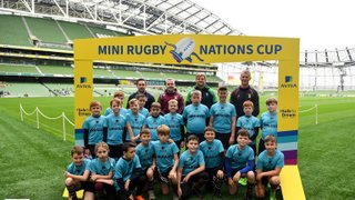U10 Boys Play in Mini Nations Cup at Aviva
