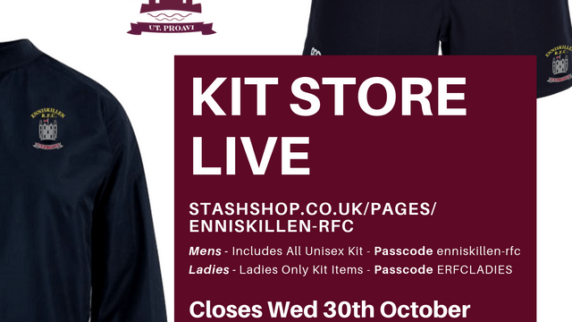 Skins Kit Shop Open Now Until 30th October
