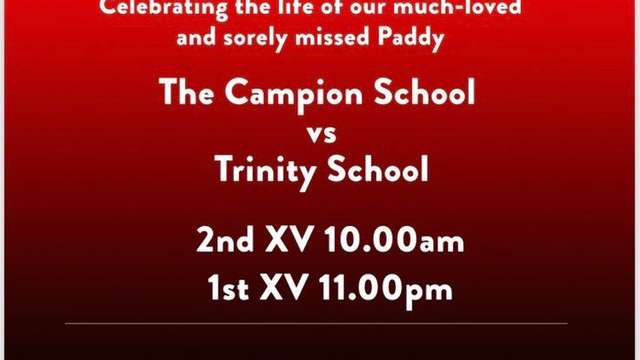 Paddy Dear Memorial Rugby Day 21.09.19