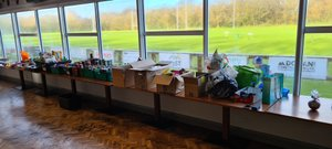 Fantastic donations for Help Out Hampers!