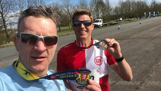 Harrow coaches marathon fundraiser