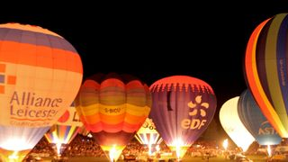 Bristol Balloon Fiesta Camping