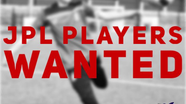 PLAYERS WANTED | JPL U14, U15, U16