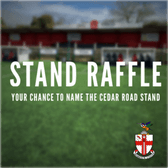 STAND RAFFLE | Your chance to name the Cedar Road Stand