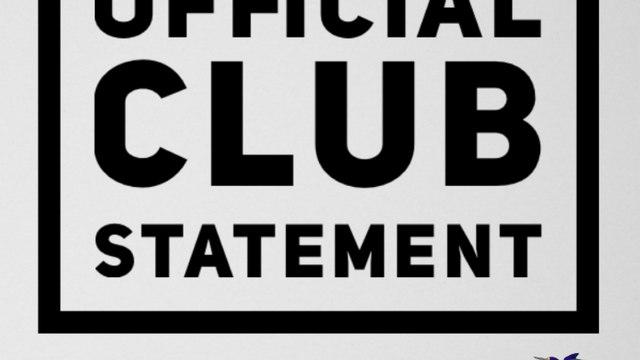 CLUB STATEMENT | Covid Update