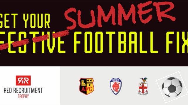 RED RECRUITMENT CUP | New Fixture Dates Confirmed for May 2021