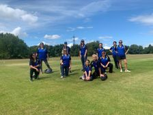 Momentous occasion! First game for Crouch End Women's Team (CREW) Away  - Hackney Marshes 26 July 2020