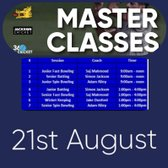 Masterclasses - Friday 21st August at the Calthorpe Ground