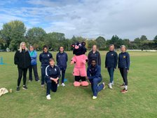 Girls' cricket day at Crouch End proves a big hit with special Middlesex guests
