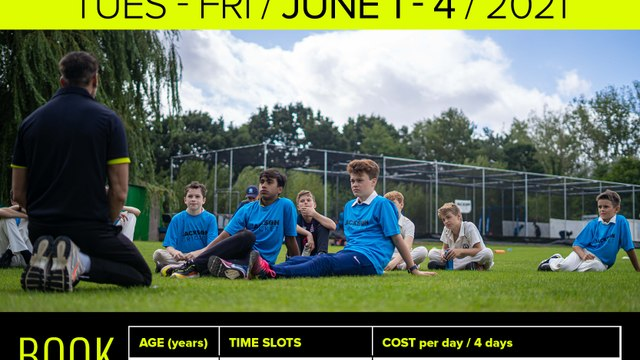 Jackson May Cricket Half Term Cricket Camp
