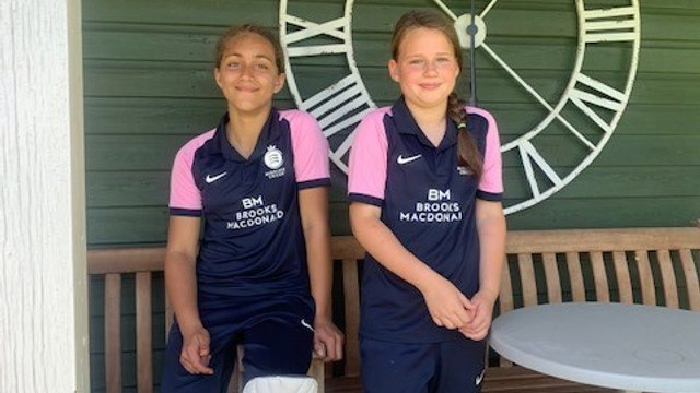 Two Crouch End Girls officially capped for U11 Middlesex Team