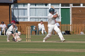 Some big hits save the day against Holmbury