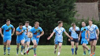 First game of the season 2015 North Herts v St Albans Centurions 09_05_2015