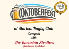 Oktoberfest - Come and Oompah with the Bavarian Strollers Friday 11th Oct