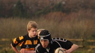 U13s v Weston Hornets 2nd Dec 2012