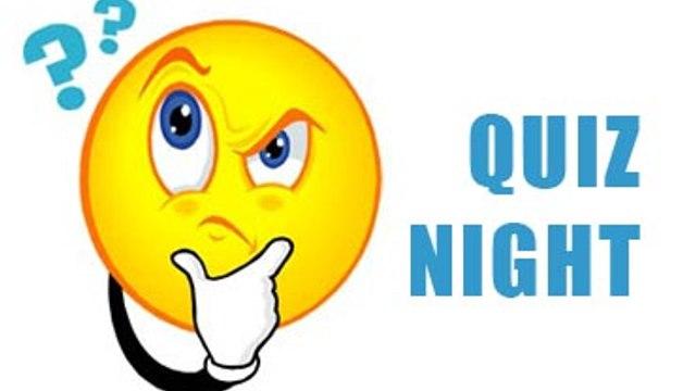 CHC Quiz Night this Saturday - 23rd May