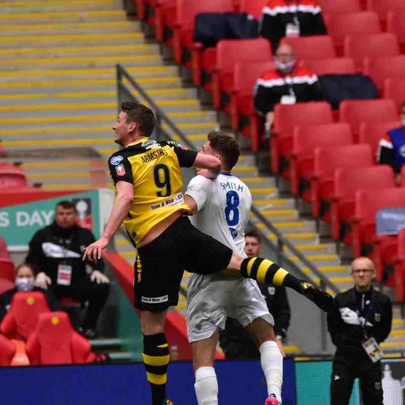 Match Gallery: v Consett AFC, FA Vase Final, Wembley (By Sean Harrison)