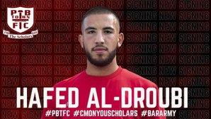 Al-Droubi Signs for Scholars