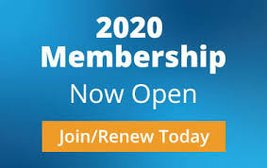 2020 Membership Open for Digital Payments!