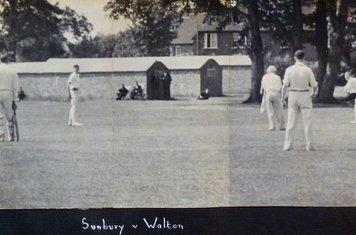 1946 - SCC vs Walton at Cedars