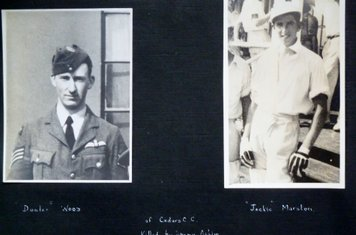1943 - Cedars cc players Dooder Wood and Jack Marsden - sadly killed in action in WW2