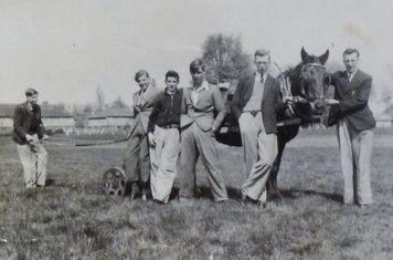 1940 - Cedars outfield