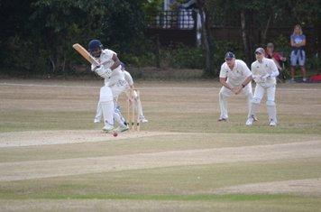 Shree Rajkumar clips one to leg