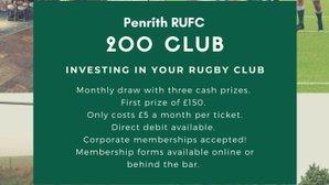 November 200 Club Winners