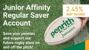 Junior Affinity Regular Saver Account from Penrith Building Society.