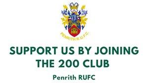 August 200 Club Winners