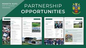 Penrith RUFC Partnership Opportunities for 2021/22 Season